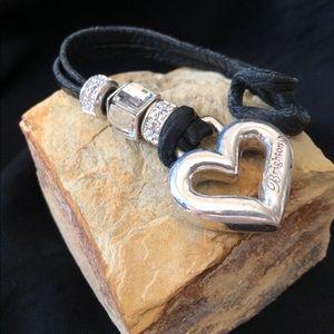 Brighton Leather keychain or purse accessory